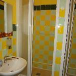 Male shower room