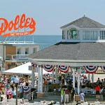 Dolles and the Band Stand from Rehoboth Ave