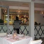 Outdoor restaurant bar