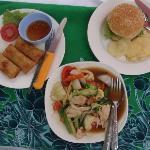Food at the beach