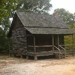 Laurance Corley Log House ca. 1771