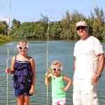 Family Fishing with Mailani