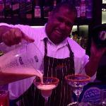 Master bartender Jeime