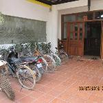 Front Door & bike area