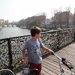Puente peatonal de los enamorados