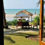 View of the beach from Bungalow 115