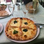 pizza and calzone