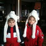 Cute guests going skiing :)