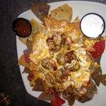 Grilled shrimp/Crab nachos