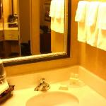 Bath Sink Area Hanes Mall Courtyard By Marriott