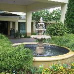 Fountain near entrance