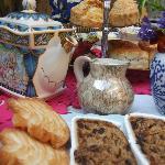 Ann Marie's cream tea