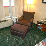 All King Rooms have Chair & Ottoman