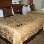 double bed with suite