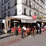 Cafe du Marche terrace