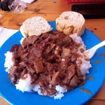 Delicious red beans and rice