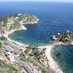 View down to Isola Bella