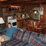 Living Room/Kitchen Area