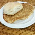 Top side of bread
