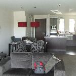 Looking into living area of Village Lake apartment