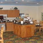 Comfort Inn & Suites, Seabrook, breakfast area