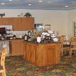Comfort Inn & Suites, Seabrook, breakfast area