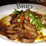 lamb at Brio's in Southlake