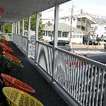 le balcon, vue de notre chambre