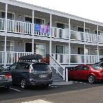 les chambres du motel