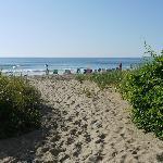 proximité de la plage de l'hotel