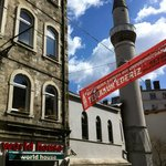 World House hostel beside Mosque, Istanbul, Turkey