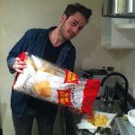 Marco's giant bag of crisps