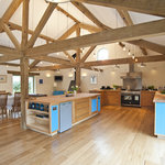 The new kitchen in The Mill.