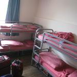 Room with 8 beds