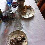 torta della casa & cantucci con vinsanto