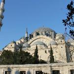 Udsigten fra restaurant - Süleymaniye moskeen