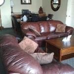 """""""living room"""" in executive suite"""
