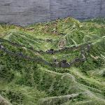 Modell der Mauer