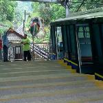 Penang hill's Cable car station