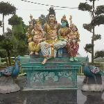 You can see this beside the Hindu Temple