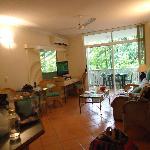 Lounge inside apartment
