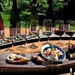Wine Tasting Platter with Wild Earth Wine!