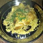 Maqluba (Upside down) dish