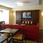 Marriott Pittsburgh airport Concierge Lounge