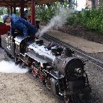 The Park's Santa Fe Steam Train Ride