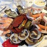 assiette de fruit de mer