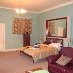 Executive bedroom with en-suite shower room.