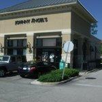 Outside Johnny Angel's