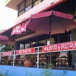 Barefoot Buddha Outdoor Dining (air conditioned inside)