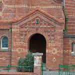 The First Presbyterian entrance